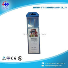 wt20 tungsten electrodes for tig welding with high quality for sale in China