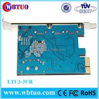 PCI Express USB3.0 lan pc card
