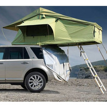 Popular long version waterproof folding car roof tent