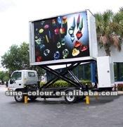 Energy saving mobile truck led display screen