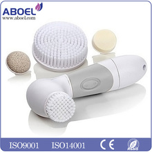 Skin Cleansing Brush System for Gentle Scrubbing Removes Dirt, Make-up, Prevents Skin Aging & Acne