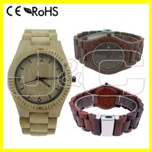 2014 newest design custom cheap wood wrist watch and bamboo watch for women