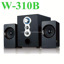 fm radio tv soundbar speaker with usb port/ tv/aux/optical/coaxial subwoofer speakers with USB/SD/FM Function