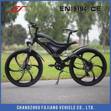 Lastest electric mountain bike certified by CE EN15194