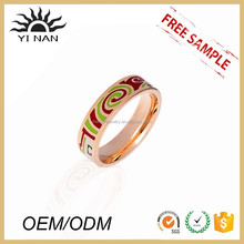 Popular Manufacturers Wholesale Ring Male And Female Couple Enamel Rings