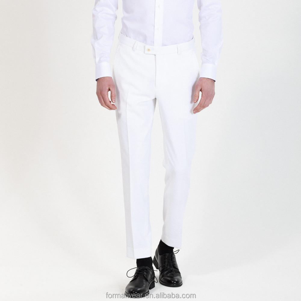 Amazing Summer Loose White Formal Pants Women High Waist Wide Leg Pants