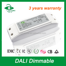 DALI dimmable led driver constant current for led strip