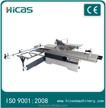 Precision woodworking used sliding table panel saw machine with scoring blade