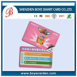 125KHz, ISO18000-2, EM4100, TK4200, EM4305 contact smart card