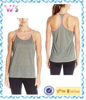 2015 cheap wholesale womens blank sports fitness tank top