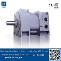 Alibaba suppliers Excellent quality lage size 2500kw dc motor