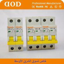 ISO9001 Certificate THinner dz47 2 Pole Circuit Breaker australia iran mcb1p+n
