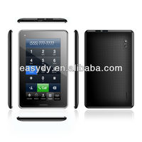 Android 4.1 OS Allwinner A13 7 inch Cheapest Tablet Call Function Tablet pc with Sim Card