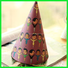 Cheap birthday party paper hat children party hats
