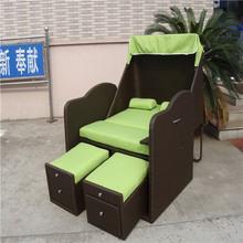 oriental tradicional de caña diván con dosel