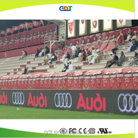 Soccer field advertisement, p16 outdoor full color led display manufactures in china