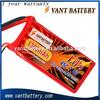 Vant 2S high rate discharge rc lipo battery pack 7.4v 1300mah 45C rc heli battery