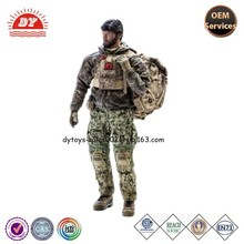 Custom High Quality 12 inch Real-like Plastic Military Characters