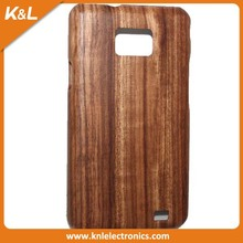 For Samsung Galaxy S2 I9100 mini Wooden Cell Case, New Stylish PC Back Cover Case for Samsung Galaxy S2 I9100 OEM ODM