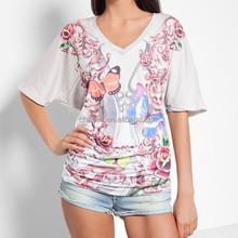 lady printing blank T-shirt,women print T-shirt,women T-shirt size s m l xl xxl xxxl