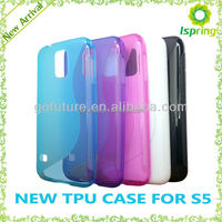 Soft tpu mobile phone case for samsung galaxy s5 case