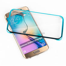 mirror phone cases electroplating tpu cell phone case cover case for samsung c3222 for samsung s6 edge