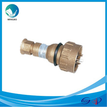 water-tight high current brass electric marine power plug