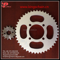 motorcycle transmissions YBR125 crown motorcycle and pinion