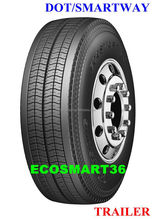 office in Los Angels sell TRANSKING brand 11R22.5 truck tire, 11R24.5 truck tire, 295/75R22.5 truck tire with DOT SMARTWAY