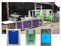 China factory supplier fully automatic reusable non woven bag making machine