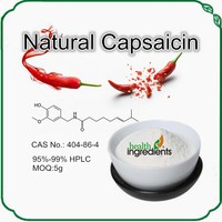 GMP Factory Supply Natural and Pure Capsaicin 99% capsaicin