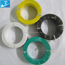 1X1.0mm2 PVC insulation copper conductor single electrical cable wire