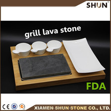 steak cooking grill lava stone for cooking with cheap price