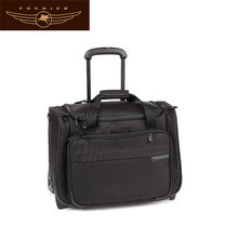 men polyester new design laptop bag with trolley