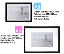 2015 new product! A3 Scale Drawing Led Copy Board