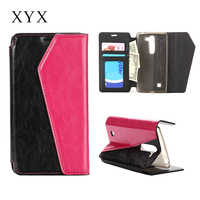 Business choose hand bag style leather cover case for moto g3