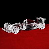 Top Quality K9 Crystal F4 Car Model For Boy Birthday Gift