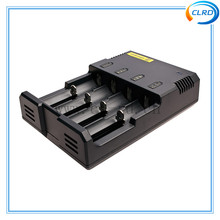 Free shipping nitecore I4 charger 4 channels 3.7v 4.2v li-ion battery charger smart