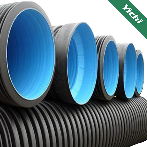 Corrugated pipe machine quot drainage hdpe