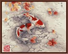 pintura moderna china de Aceite digital DIY