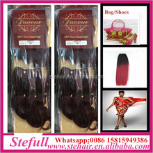 Stefull hair good quality no tangle wholesale 100% brazilian hair