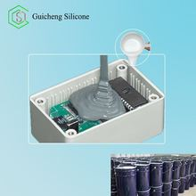 Two Parts Liquid Silicone Compound Addition Cure Electronic Potting Silicone Rubber For Electronic Potting