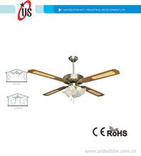 Ventilador de techo con luz caliente venta de ventilador de techo decorativo precio ventilador de techo con ce/rohs
