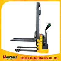 1-1.5tons battery electric stacker warehouse equipment