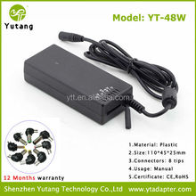 Best Selling Power Supply 48w Manual Tablet PC Adaptor with CE&RoHS Certificate