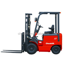 China Made DC 1.0-1.5T Balance weight type electric forklift truck