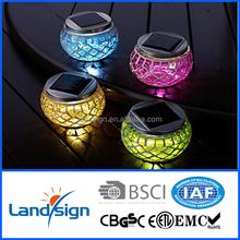 XLTD-514 portable mosaic solar lawn light