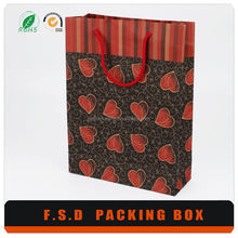 Guangzhou FSD Factory Price Fancy Customized Paper Gift Bag
