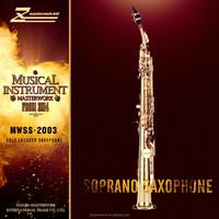 Gold coating soprano saxophone for sale