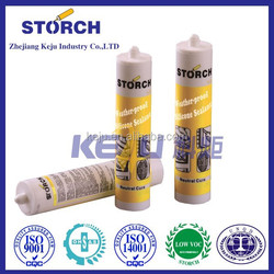 High temperature change no fragility silicone sealant for stone